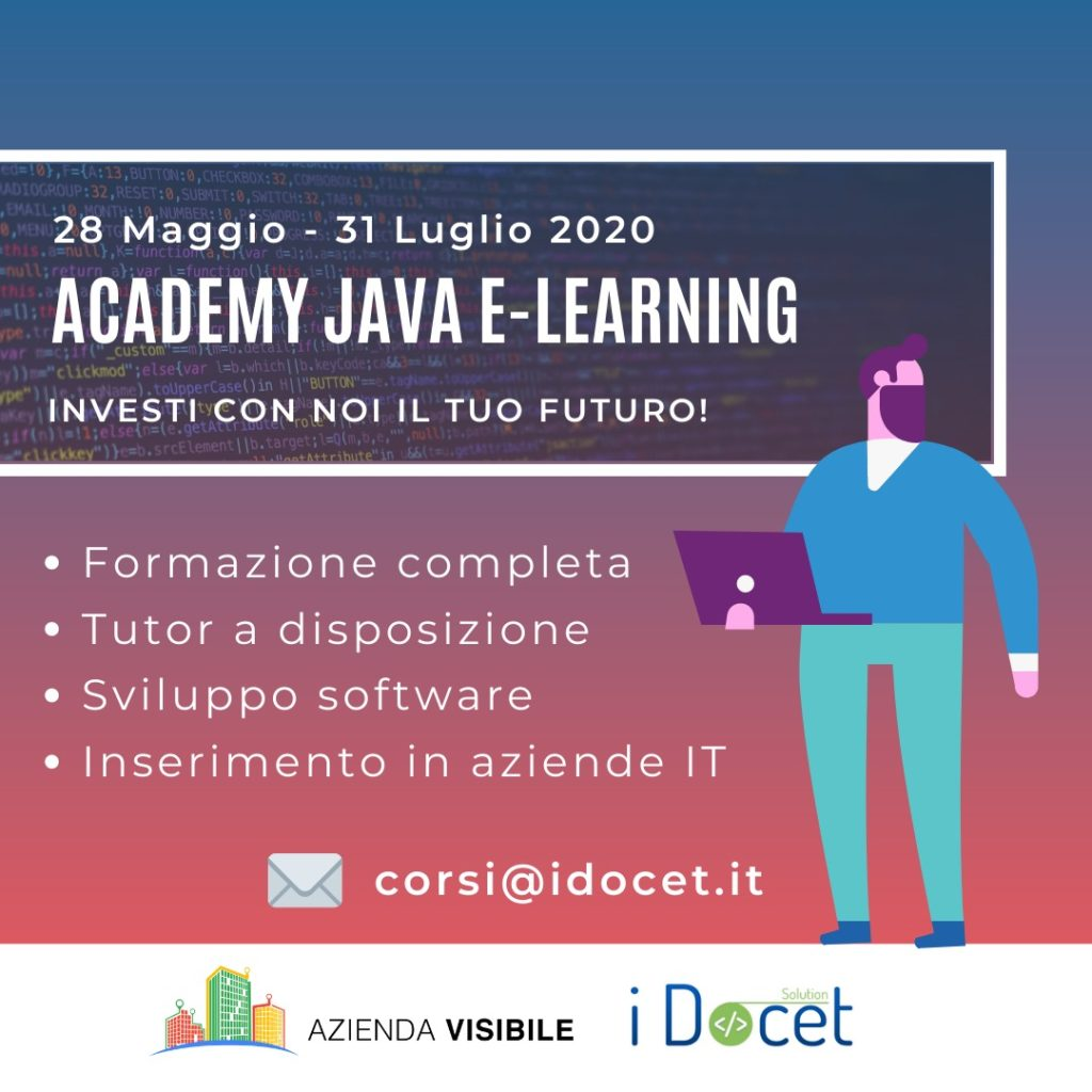 academy java e-learning